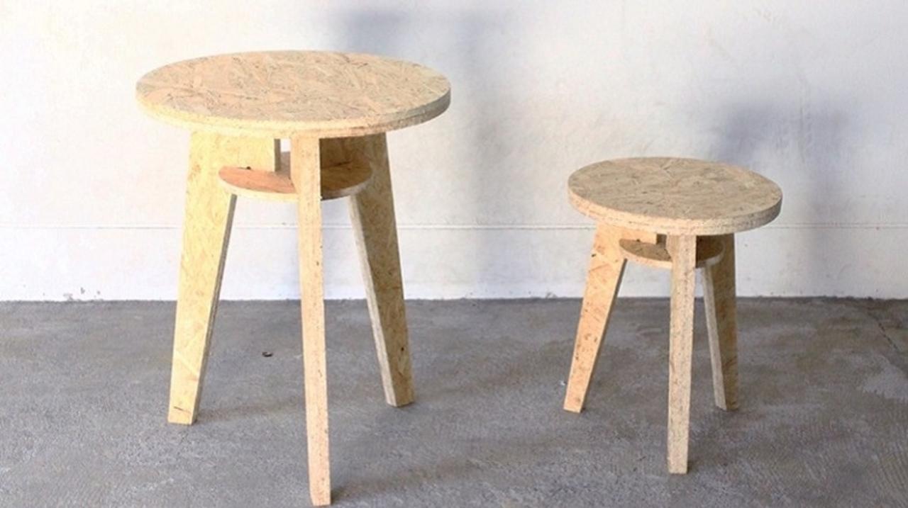 大人のための「夏休みの工作」は組み立て式で気軽に! 「OSB Furniture Stool」