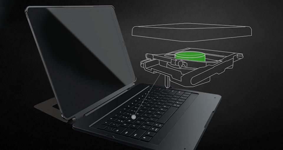 打感はカ・イ・カ・ン、iPad Pro用外付けキーボード