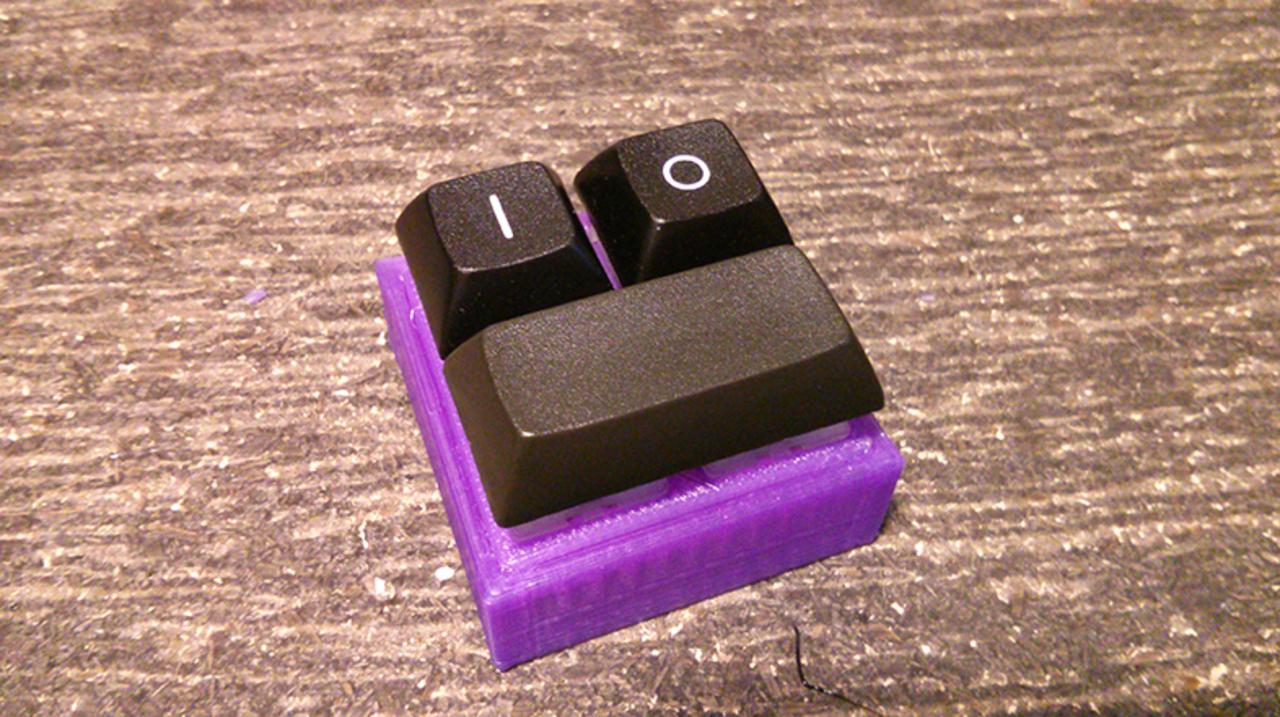 キーは3つまで。極限までシンプル化したキーボード