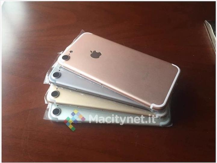 iPhone 7のモック画像が4色分流出するも、注目のあの色は…ない?