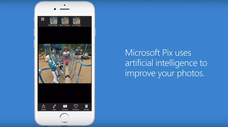 マイクロソフト、人工知能で銀河一簡単に撮れるカメラアプリ「Pix」リリース