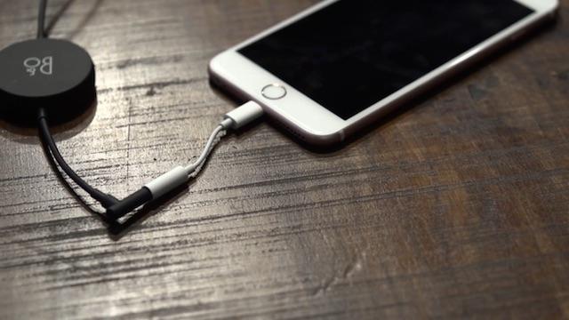iPhone 7イヤホン変換アダプタの使い方