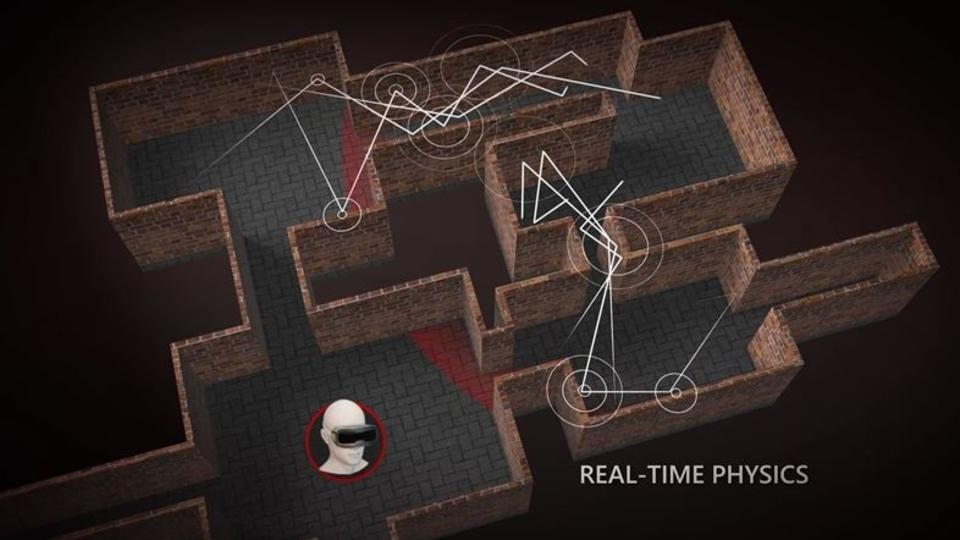 VR空間内に自然な音を蔓延させる音響の物理演算エンジン