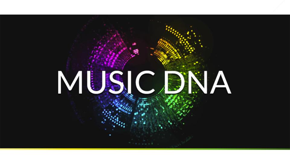 ブラウザ上で音の遺伝子を視る「Music DNA」