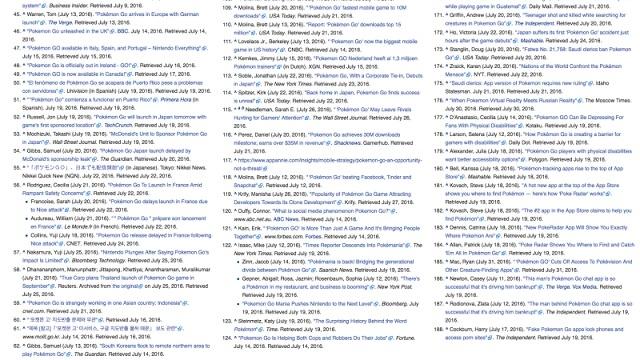 ポケモンGOのwikipedia