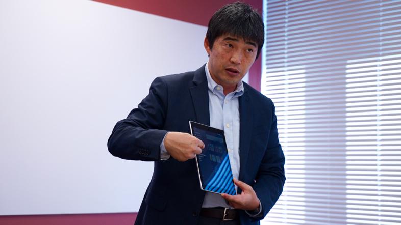 Kindle事業本部友田雄介さん