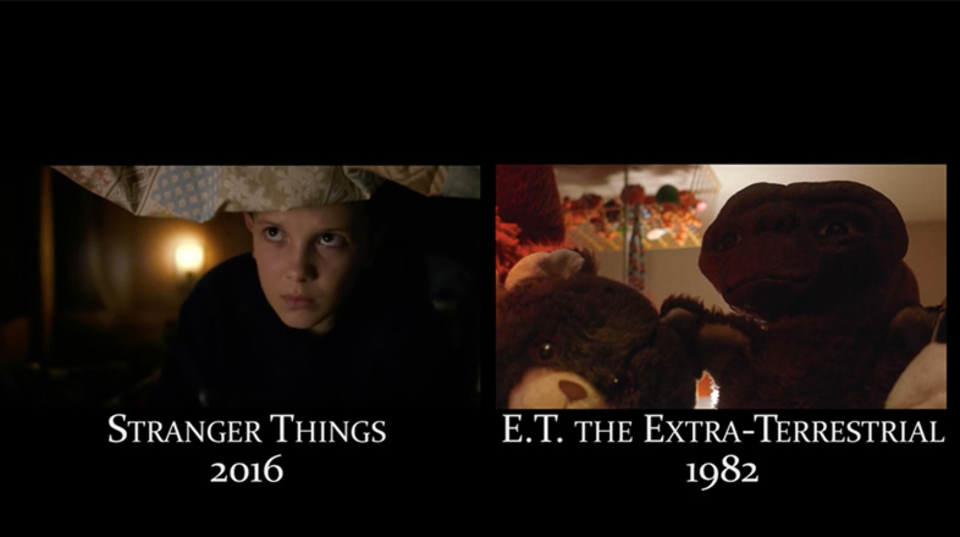 80年代映画のオマージュ満載! ドラマ「ストレンジャー・シングス」のシーンとネタ元のシーンを並べて比較