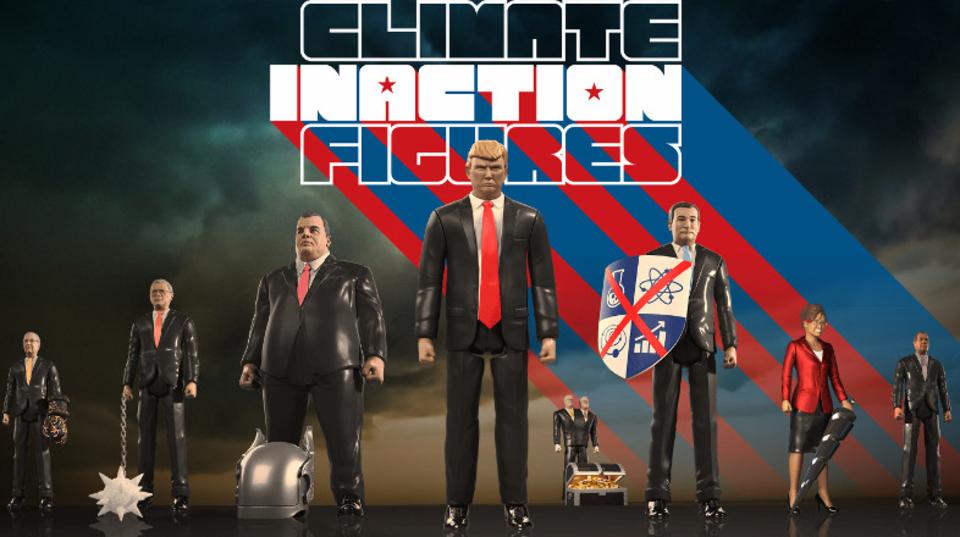「地球温暖化なんか関係ねぇ!」 温暖化対策にアクションしない奴らのアクション・フィギュア