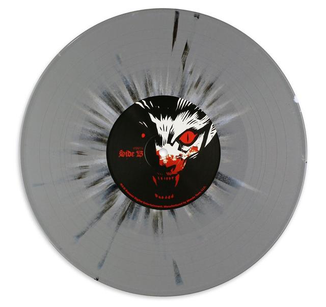悪魔城ドラキュラ アナログレコード レコード表面