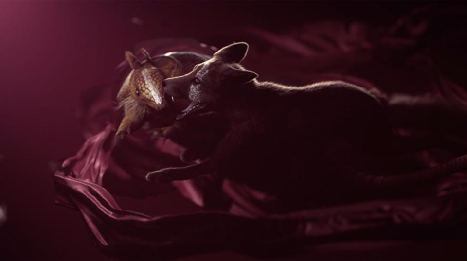 弱肉強食を描いた美麗微細な3Dアニメーション「VERSUS」