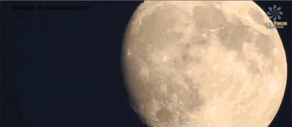 光学83倍ズームで月まで連れて行って