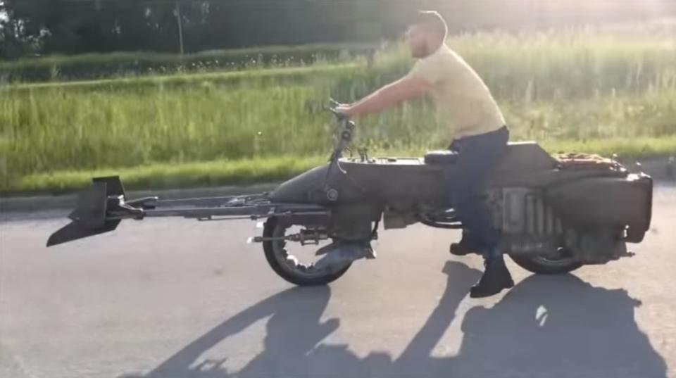 「スター・ウォーズ」のスピーダー・バイクが現実に?