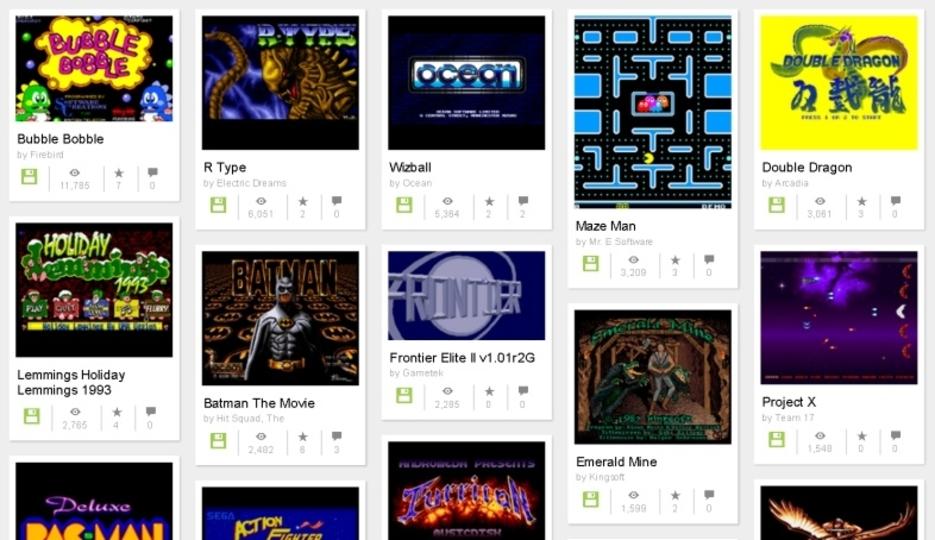 懐かしの「R-TYPE」などのAmigaのゲーム1万本がブラウザで遊べます