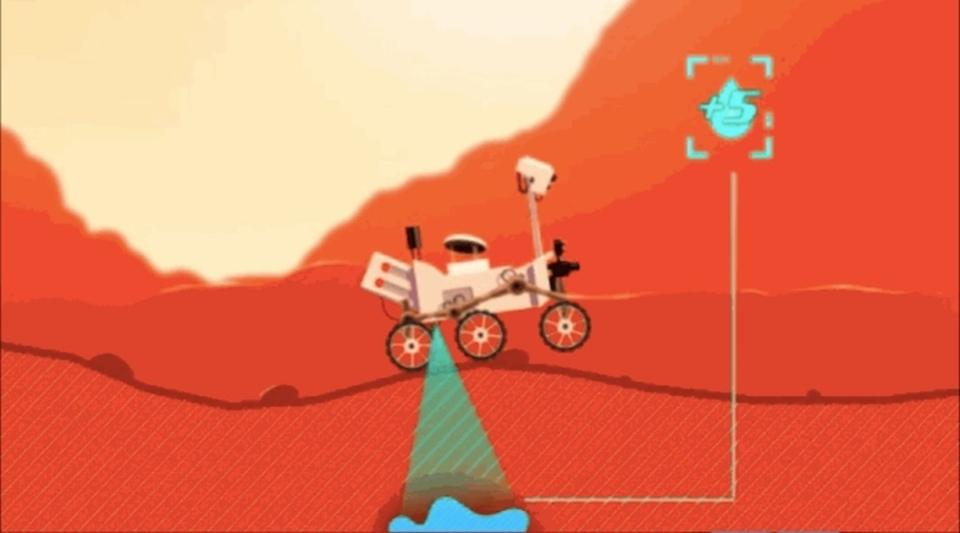 火星探査機キュリオシティを操作できるNASAのミニゲームがなかなかかわいい