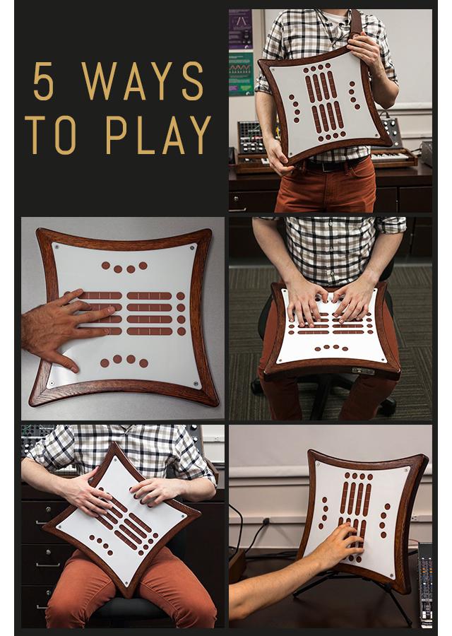 5種類の演奏の仕方