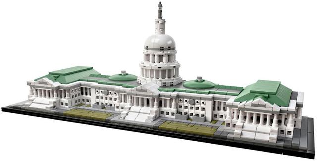米国会議事堂、公式レゴ化!