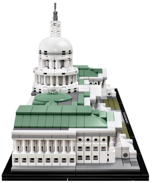 米国会議事堂のレゴ横から