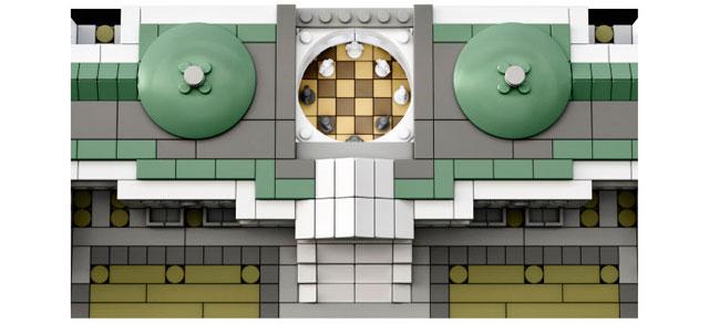 米国会議事堂のレゴ上から