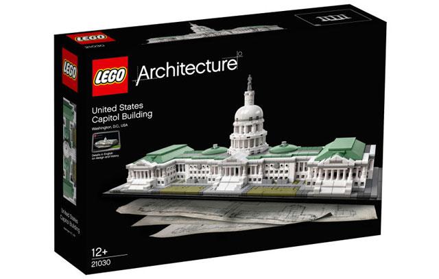 米国会議事堂のレゴパッケージ