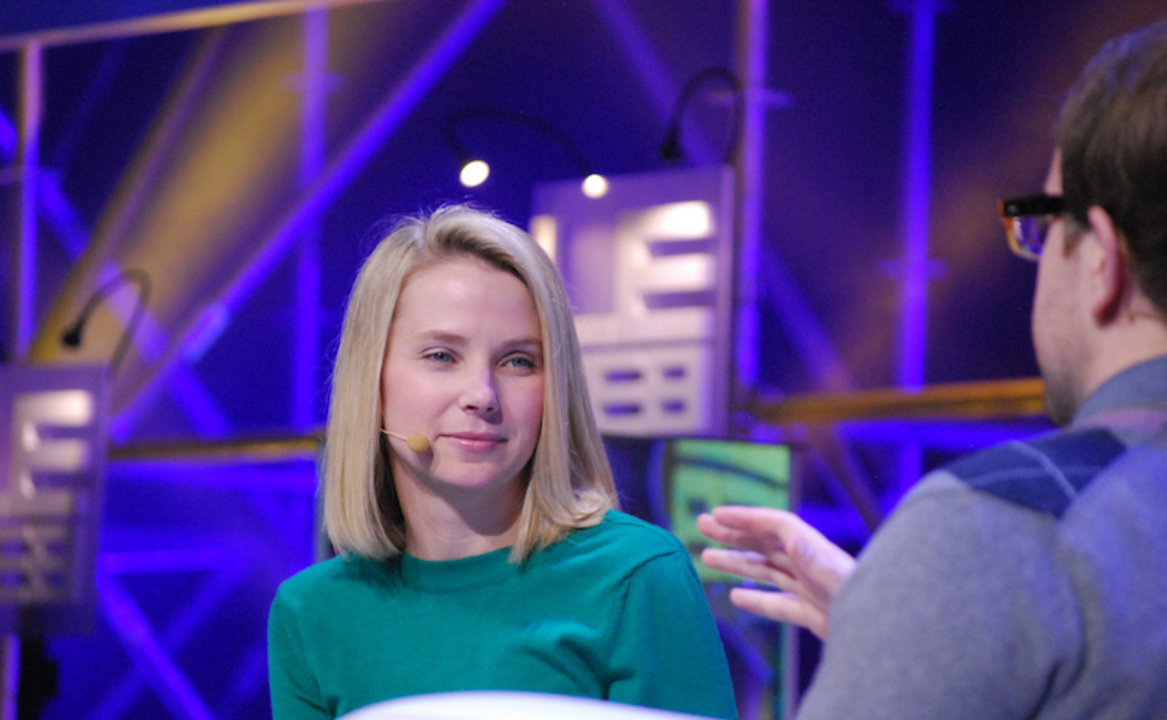 米Yahoo!CEOマリッサ・メイヤー「週130時間働くにはトイレの回数の戦略も必要」