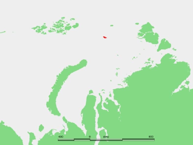 ロシアのヴィセ島