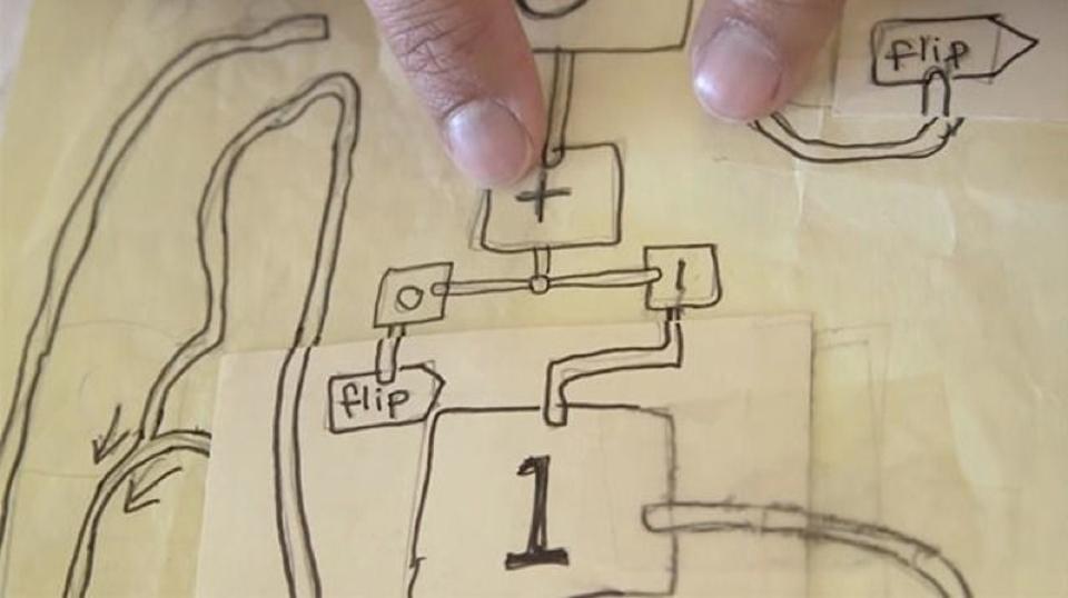 どうやって使うの? 漫画家が作った紙の計算機