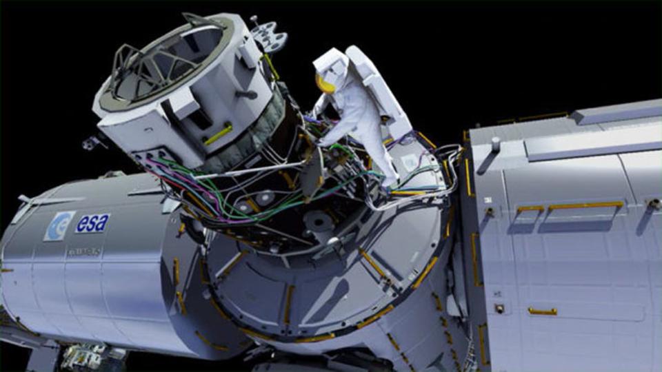 SpaceXとBoeing専用。今夜、国際宇宙ステーションに「駐車場」を作る!