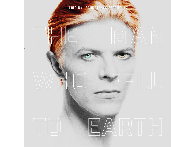 「THE MAN WHO FELL TO EARTH' ORIGINAL SOUNDTRACK」ジャケット