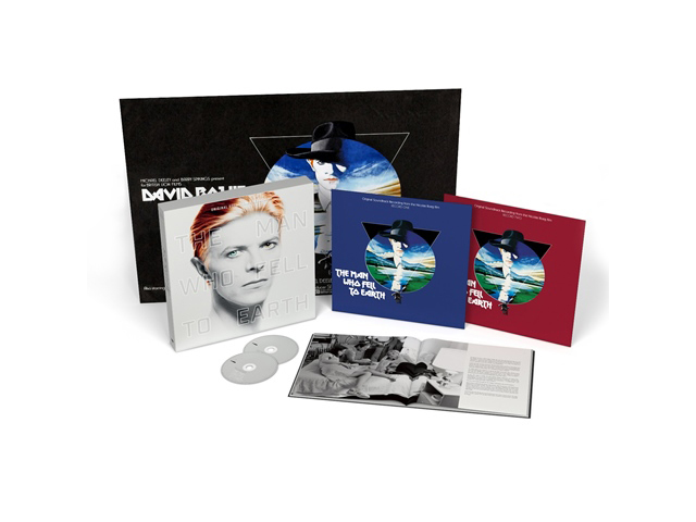 「THE MAN WHO FELL TO EARTH' ORIGINAL SOUNDTRACK」デラックス・ボックス