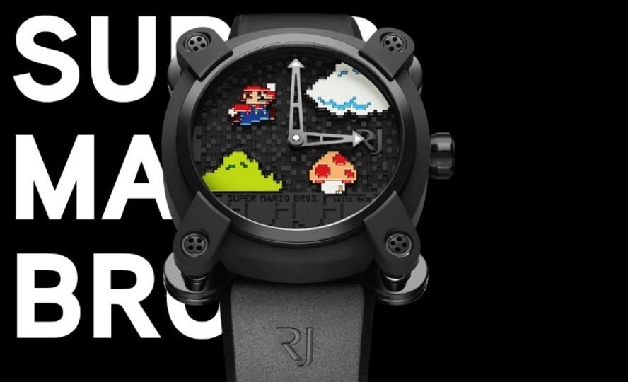 お値段なんと270万円の「スーパーマリオブラザーズ」腕時計
