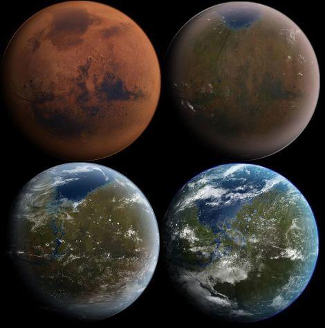 火星のテラフォーミングに核爆発はそんなに必要ないかも、テラフォーミングコンセプト