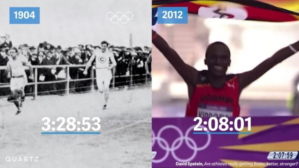 人間に限界はあるのか。五輪の記録が伸び続ける理由