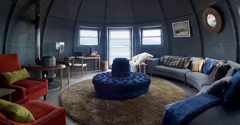 南極大陸の豪華ホテル White Desert 2