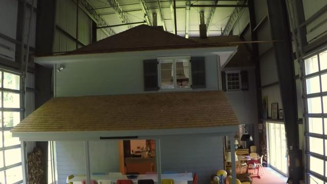 斬新…こんな増築方法ってありなんだ! 家の中に家を作ったらとても快適