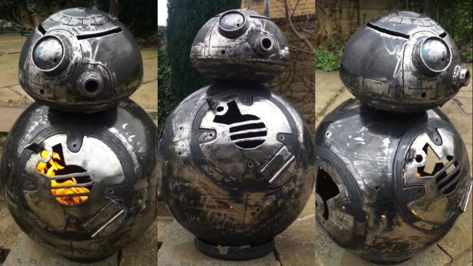 「BB-8」型の薪ストーブで年末の「ローグ・ワン/スター・ウォーズ・ストーリーに備えろ!