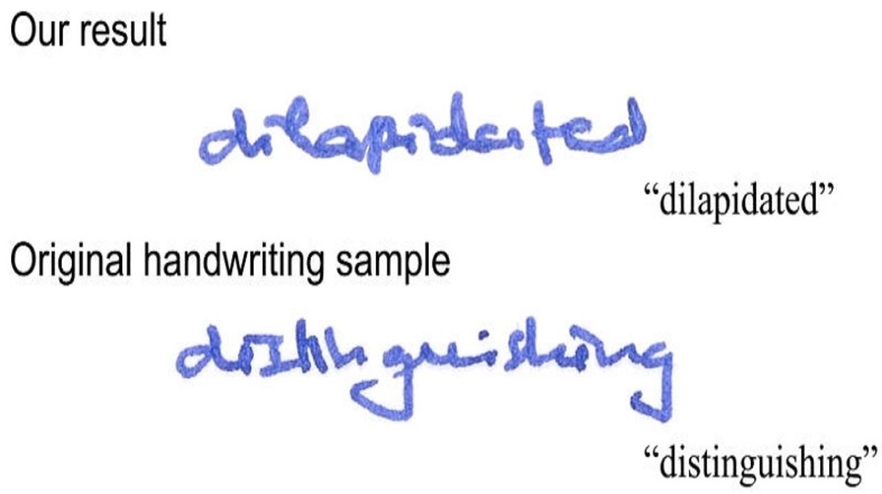 悪用厳禁! 筆跡を完ぺきに再現できるソフトウェア
