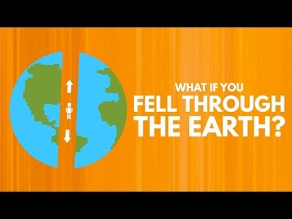 安倍マリオ風? 地球を通り抜けて裏側に行くのにかかる時間は?