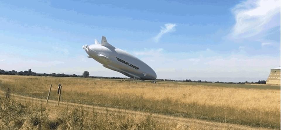 """""""空飛ぶお尻""""こと世界最大の航空機「Airlander 10」、今度は墜落!?"""