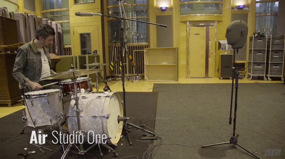 録音スタジオが変わるとドラムの音はこんなに変わる