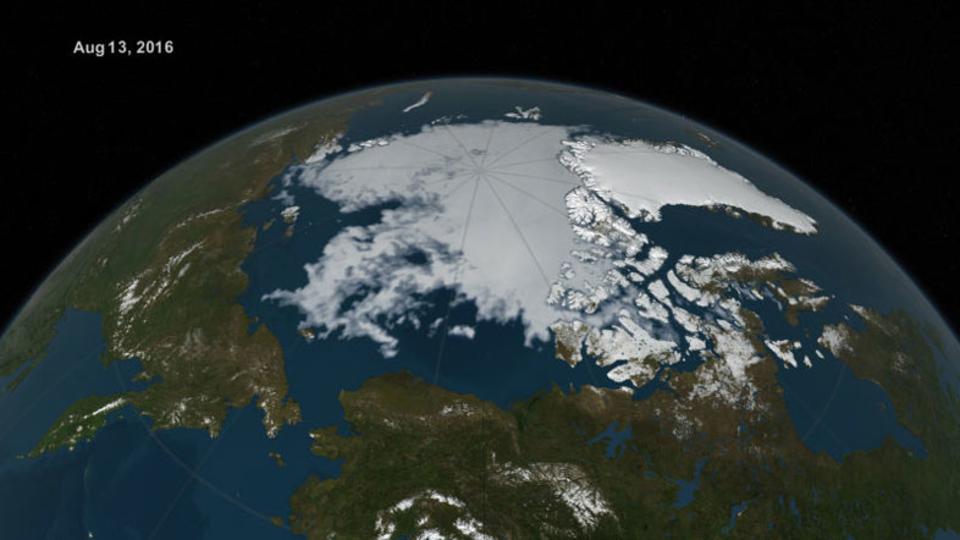 地球温暖化で海氷減少。「今ではこれが普通」とNASAも慣れるレベル…