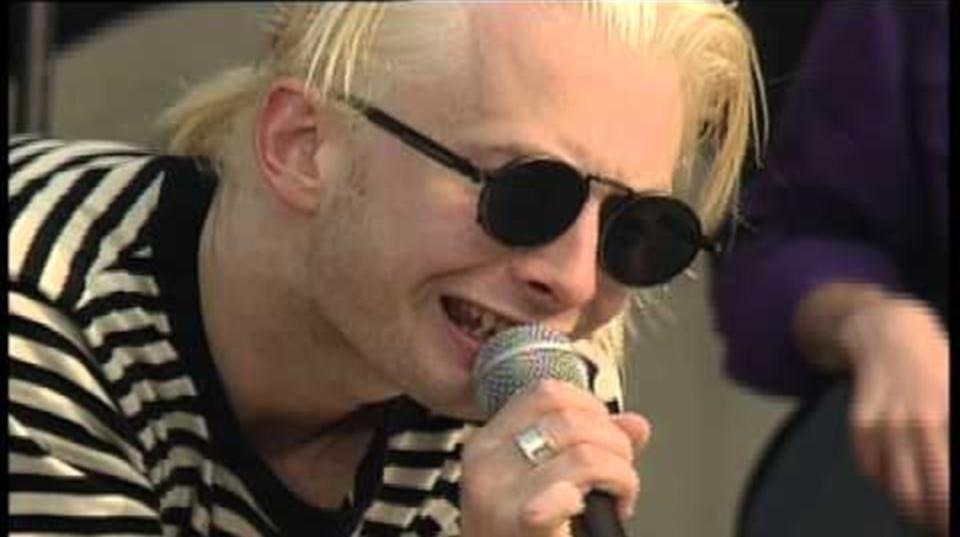1993年のレディオへッド、MTV Beach Houseにて