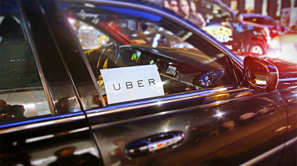 ピッツバーグで自動運転中のUberタクシーみーっけ!
