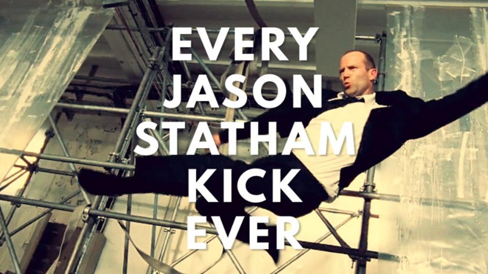 一蹴一殺! ジェイソン・ステイサムの蹴りシーン大全集