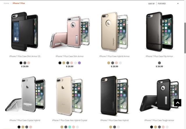 Spigenの新たなiPhoneケースラインナップ iPhone 7用の可能性