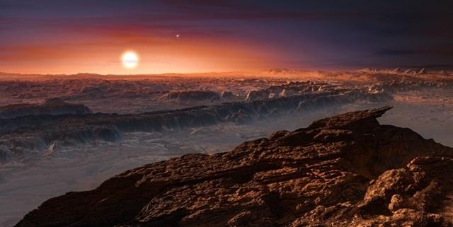 地球そっくりな星、見つかる、想像図