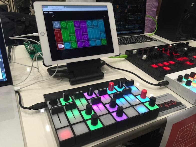 新作のMIDIコントローラー