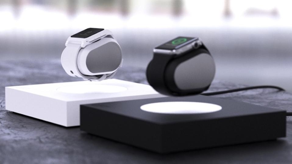 宙に浮く充電器「Lift」。Apple Watchが浮きながら充電されます