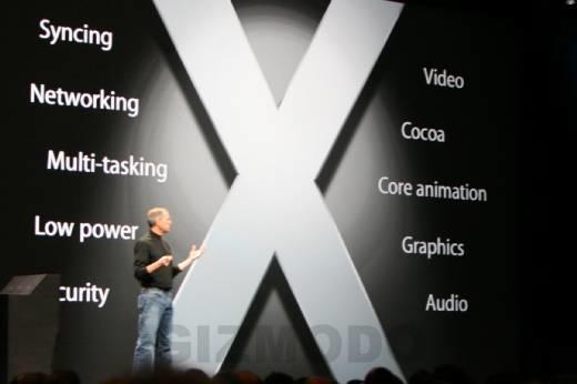 初代iPhoneには「OS X」が採用される。ただし…