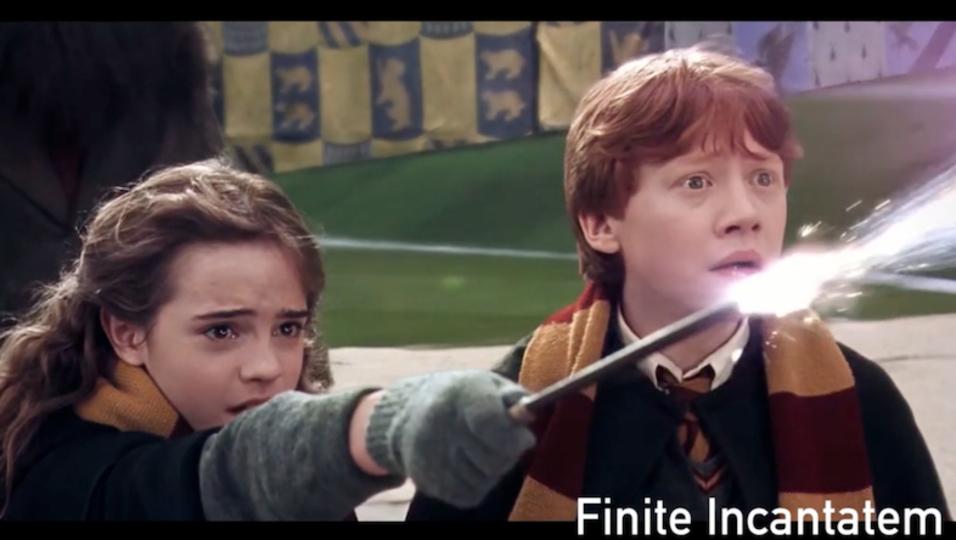 目と耳から覚える、ABC順「ハリー・ポッター」の呪文