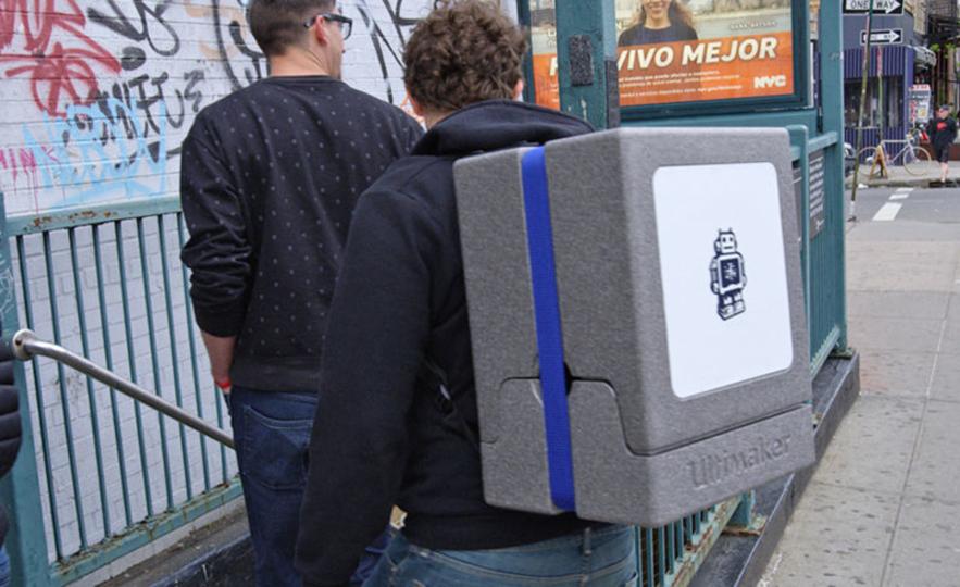 3Dプリンター専用バックで、いつでもどこでもノマドメイカー